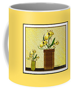 Coffee Mug featuring the digital art Quiet Time #5 by Iris Gelbart