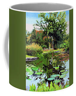 Quiet Time Coffee Mug by John Lautermilch