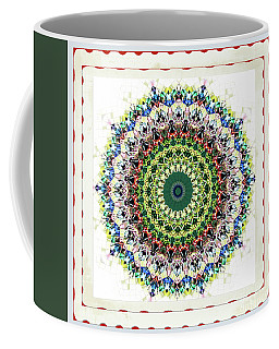 Coffee Mug featuring the photograph Quilted Comfort by Shirley Moravec