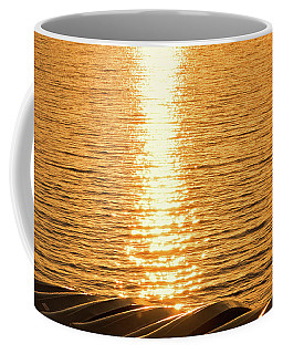 Coffee Mug featuring the photograph Quinault Sunset Retake by Michael Hope