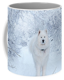Quinn The Mighty Samoyed Coffee Mug