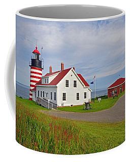 Quoddy Head Lighthouse Coffee Mug
