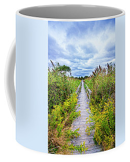 Quogue Goldenrod Walkway Coffee Mug
