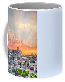 Coffee Mug featuring the photograph Rabati Castle by Fabrizio Troiani