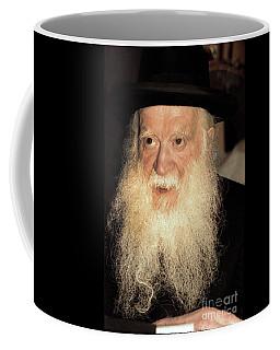 Coffee Mug featuring the photograph Rabbi Yehudah Zev Segal by Doc Braham
