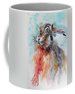 Rabbit Coffee Mug by Kovacs Anna Brigitta