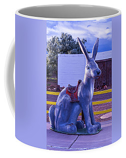 Rabbit Ride Route 66 Coffee Mug