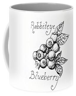 Rabbiteye Blueberry Coffee Mug