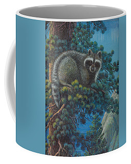 Raccoon At Lake Tahoe Coffee Mug