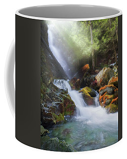 Coffee Mug featuring the photograph Race Brook Falls 2017 by Bill Wakeley