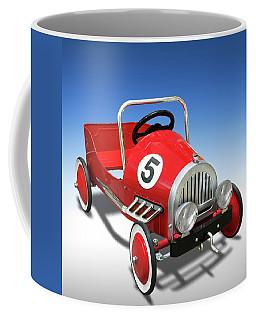 Coffee Mug featuring the photograph Race Car Peddle Car by Mike McGlothlen