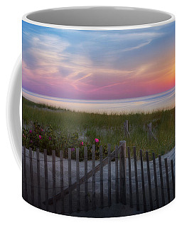 Coffee Mug featuring the photograph Race Point Sunset 2015 by Bill Wakeley