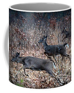 Race Through The Woods Coffee Mug