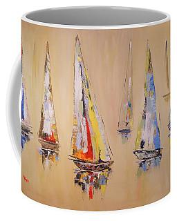 Race To Mackinaw Coffee Mug