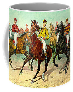 Racehorses 1893 Coffee Mug