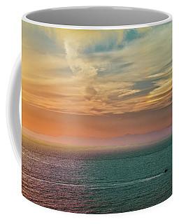 Racing The Sunrise Coffee Mug