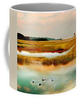 Racing The Tide Coffee Mug