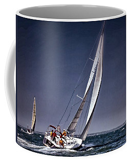 Racing To Nantucket Coffee Mug