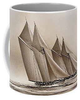 Racing Yachts Coffee Mug