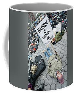 Racism Is Choking Me Coffee Mug