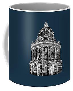 Coffee Mug featuring the digital art Radcliffe At Night by Elizabeth Lock