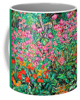 Radford Flower Garden Coffee Mug by Kendall Kessler