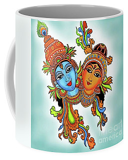 Radha With Her Krishna Coffee Mug