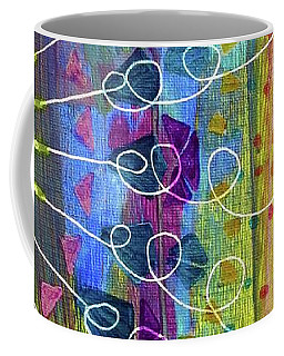 Radial Coffee Mug by Desiree Paquette