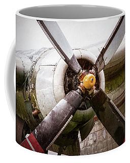 Radial Engine And Prop - Fairchild C-119 Flying Boxcar Coffee Mug