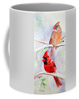Radiance Of Cardinals Coffee Mug