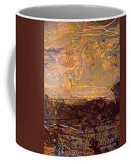 Coffee Mug featuring the painting Radiant Light by Nancy Kane Chapman