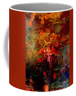Radiant Red Coffee Mug by Nancy Kane Chapman
