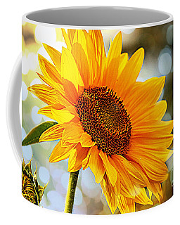Radiant Yellow Sunflower Coffee Mug