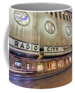 Radio City Night Coffee Mug