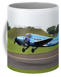 Raf Scampton 2017 - Avro Anson Nineteen During Take Off Coffee Mug
