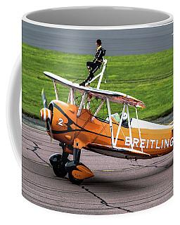 Raf Scampton 2017 - Breitling Wingwalkers At Rest Coffee Mug