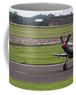 Raf Scampton 2017 - P-51 Mustang Landing Coffee Mug