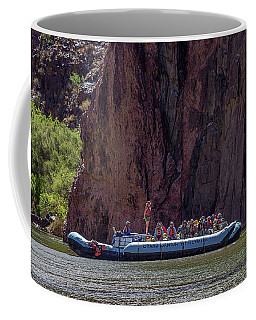 Rafters On The Colorado River, Grand Canyon Coffee Mug