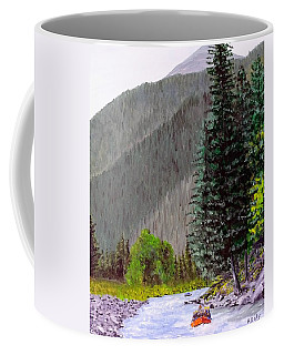 Rafting The Gallatin Coffee Mug