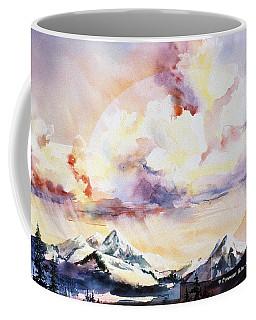 Ragged Mountains Sunset Coffee Mug
