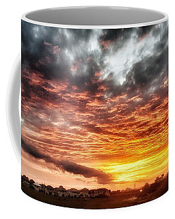 Raging Sunset Coffee Mug