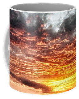 Raging Sunset Coffee Mug