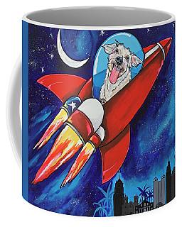 Rags The Rocket Dog Coffee Mug