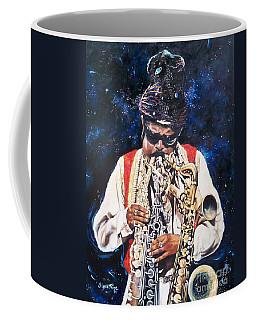 Rahsaan Roland Kirk- Jazz Coffee Mug by Sigrid Tune