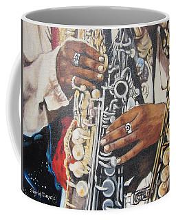 Blaa Kattproduksjoner.      Jazzed  Coffee Mug
