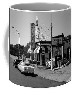 Coffee Mug featuring the photograph Raifords Disco Memphis B Bw by Mark Czerniec