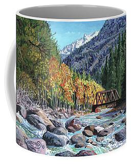 Rail Bridge At Cascade Coffee Mug
