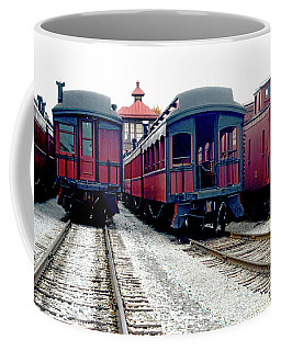 Rail Stock Coffee Mug by Paul W Faust - Impressions of Light