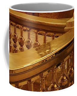 Coffee Mug featuring the photograph Railing - Balcony - Denver Capitol by Nikolyn McDonald