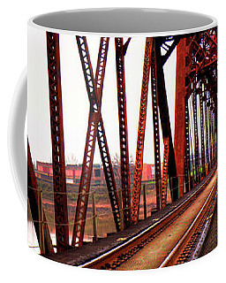 Coffee Mug featuring the photograph Railroad 2 by Ester Rogers